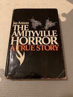 The Amityville Horror A True Story 1977 1st Book Club Edition Jay Anson HC w DJ