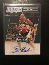 NBA auto Card Vin Baker Panini Threads 2016-17 57/99