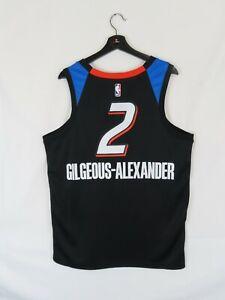 NWT Men's Shai Gilgeous-Alexander OKC Thunder Swingman Jersey (Lrg) City Edition