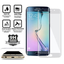 FOR SAMSUNG GALAXY S6 EDGE PLUS + FULL CURVED 3D TEMPERED GLASS SCREEN PROTECTOR