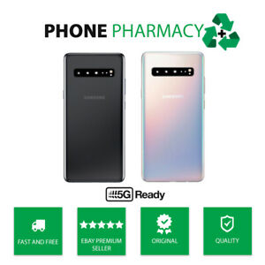 GENUINE SAMSUNG GALAXY S10 5G G977 REAR BACK GLASS PANEL BATTERY COVER + LENS