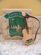 Hallmark 1986 Christmas Guitar Medley Collection Ornament