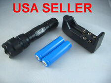 Flashlight - CREE XML T6 1000 Lumen LED Charger + 2 rechargeable batteries