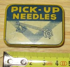 Scatolina di latta contenente 50 puntine per Grammofono - PICK UP NEEDLES