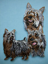 Iron-On Embroidered Patch - Australian Silky Terrier