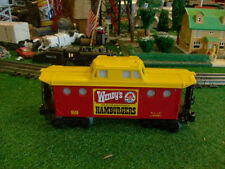 LIONEL TRAINS NO. 6449 WENDY'S CABOOSE - VERY NICE