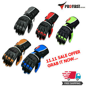 Motorcycle Gloves Motorbike Racing Thermal Knuckle Protection ATV Motocross Glvs