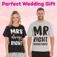 Wedding Gifts for Bride and Groom Pyjama Pajama PJ Set Anniversary Gift Present