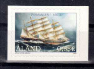 """Aland 2003 Centenary of the Sailing Ship """"Pommern"""" Single Self Adhesive MNH/UNM"""