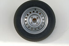 TRAILER WHEEL & TYRE 155/80 R13 4 STUD 100MM PCD 57MM CENTRE - ANSSEMS/BRENDERUP