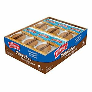 Mrs. Freshley's Peanut Butter Flavored Cupcakes 2ct (12-Pack)