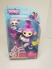 BRAND NEW WowWee Fingerlings Baby Monkey & Mini BFF Collection VIOLET AND HOPE