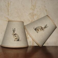 Freyetts Hartley Hare - Medium Handmade Candle Clip Lampshade Wall/Base