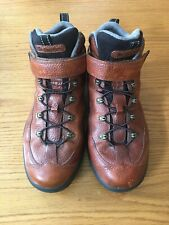 Dr. COMFORT RANGER 9420 MEN'S BROWN LEATHER DIABETIC HIKING BOOTS SIZE 11 W