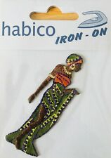 Habico Africa Woman Iron on Motif Patch Child or adult Embellishment