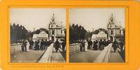 FRANCE Paris Exposition Universelle 1900 Invalides Photo Stereo PL60L12