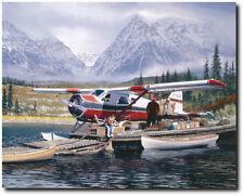 Last Chance by William S. Phllips - de Havilland Beaver  - Aviation Art Print