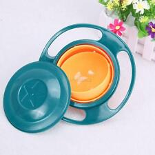 Baby Feeding Dish Baby Gyro Bowl Universal 360 Rotate Spill-Proof Food-grade PP