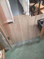 CLEAR PLASTIC STRIP DOOR / FLAP / CURTAIN 2000mm X 800mm