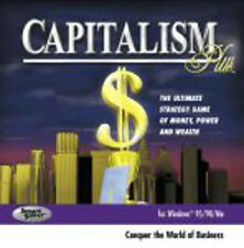 Capitalism Plus - PC Game WorksWith Windows XP,Vista,7,8 Computer Software