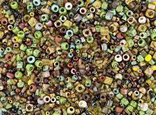 Toho Seed Bead Mix - Hybrid Picasso Mega Mix - 6/0 8/0 11/0 Bugles Cubes
