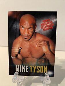 Mike Tyson Program Card From The Tyson-Jones Fight Program 11/28/2020 (RARE!)