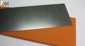 Set: unlegierter Stahl DC04 Autoreparaturblech 0,025mm - 0,80mm +Scotchbrite