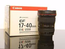Canon EF 17-40mm f/4 L USM Lens Perfect condition