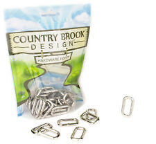 25 - Country Brook Design® 1 Inch Heavy Welded Rectangle Rings