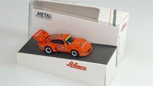 PORSCHE 935 Jägermeister #8 J.Ickx 2nd 1000km Nürburgring 1978 - 1/87 - SCHUCO