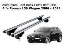 Aluminium Roof Rack Cross Bars fits Alfa Romeo 159 Wagon 2006-2012