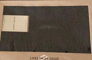 NWT JOSEPH ABBOUD GRAY SCARF 100% CASHMERE NIB