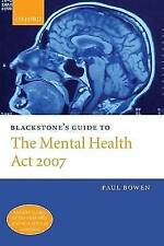 Blackstone's Guide to the Mental Health Act 2007-ExLibrary