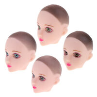 1/6 Ball-Jointed Doll Girl Head Sculpt for BJD Doll Body Parts DIY Supplies