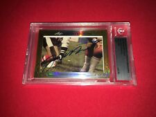 Joe Montana Bill Walsh 2013 Leaf Masterpiece Cut Signature signed auto 1/1 49ers