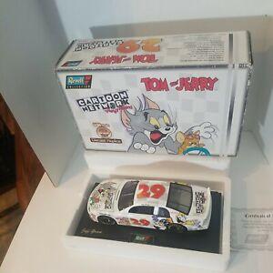 NASCAR Jeff Green #29 Cartoon Network Tom and Jerry Dexter Laboratory 1/18 NEW