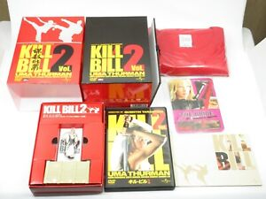Kill Bill 2 Action Movie Premium Limited Edition Box DVD T-Shirt Figure Japan