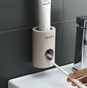 Ecoco Eco-friendly Toothpaste Dispenser, Beige