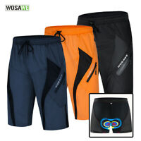 Mens Cycling Baggy Shorts Running Sports Quick Dry Casual Short Pants Breathable