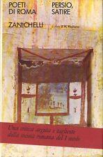 Poeti di Roma (Zanichelli): LE SATIRE di Aulo Persio Flacco, cura di M. Pagliano