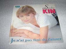 SANDRA KIM 45 TOURS BELGIQUE J'AI PA FINI DE T'AIMER(2)