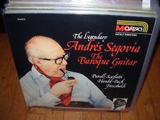 ANDRES SEGOVIA baroque guitar ( world music ) spain remastered