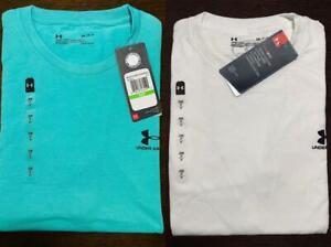 Men's Under Armour Short Sleeve Tee Shirt Sports-style T-Shirt Tops Cotton
