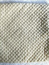 Pottery Barn 20x20 Quilted Silk Pillow Cover Pickstitch PB - Cover only Cream