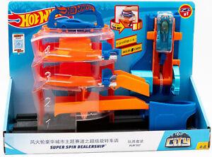 Mattel Hot Wheels GBF95 - City Super Spin Parkhaus Parkgarage Dealership NEU OVP