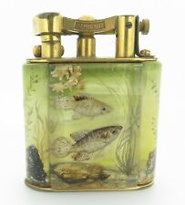 .Rare 1950s ALFRED DUNHILL Aquarium Table Lighter Lighter - Made in England