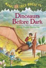Dinosaurs before Dark by Mary Pope Osborne (Paperback, 1992) Magic Tree House 1