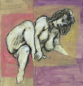 The Nature of The George Grosz And Otto Dix - Female Nude Rubenesque Lady
