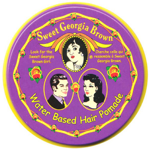 NEW- ORIGINAL SWEET GEORGIA BROWN - PURPLE 114g - MENS HAIR POMADE