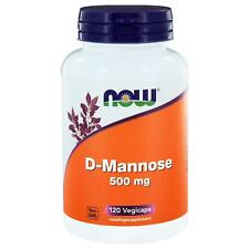 Now Foods, D-Mannose 500 mg, 120 Kapseln